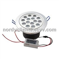 15W LED Downlight recessed Ceiling Lamp Cool/Warm/ White 85~265V