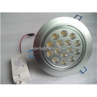 15w Led Ceiling Light,AC85-265V 50/60Hz,CE& ROHs,15w Led Down Light,2 years warranty