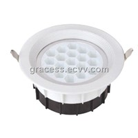 19W High Brightness LED Down Light With CE