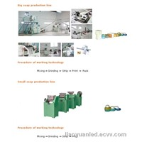 200-500kg/hour laundry soap production line,toilet soap production line