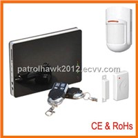 2012 New Coming!! Intelligent Security Home Wireless Alarm Control Panel