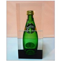 Customize Acrylic Bottle Embedment Lucite Embedment for Promotion Shenzhen Factory