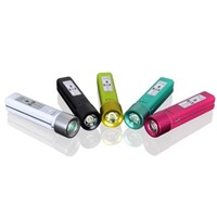 9$2013 Hot Selling LED Torch Function Portable Power Bank for iphone ipad PC mobile phone