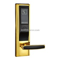 2013 zinc alloy electronic RF hotel smart door lock
