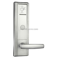 2013 zinc alloy hotel key card security door locks for hotel