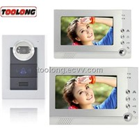 30%off Memory Villa Video Door Phone System with 2screens
