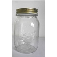 385ml and 765ml round food candy glass jar