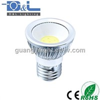 3W COB LED Spotlight Spot Light E27 MR16