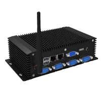 "3.5"" Industrial PC with NVIDIA GT218-ION,6*COM HDMI WIFI, 6USB, 2 mini PCIE,12VDC IN, 2LAN ports"