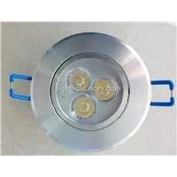3w Led Ceiling Light,AC85-265V 50/60Hz,CE& ROHs,3w Led Down Light,2 years warranty