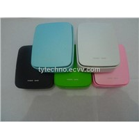 5600mAh Li-ion Battery Protable Power Bank with LED torch for iPhone iPad Mobile Phone
