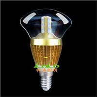 5W Samsung Candle Led Bulb Indoor Dimmable Led Chandelier Bulb