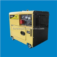 5kw Silent Diesel Generator with 3-Phase KDE8500T