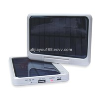 7000mah High capacity folded solar charger for r iPhone,iPod,cellphones,digital camerastablet pc