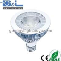 7W COB LED PAR30 Spotlight E27 500lm