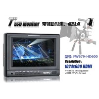 "7"" Small HD LCD SDI input and out monitor for professional movie/TV shooting"