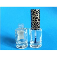 7ml clear glass nail polish with plastic cap wholesale xuzhou
