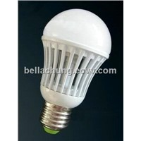 7w G60 LED bulb light E27/ B22 base,600lm, AC85-265V input voltage