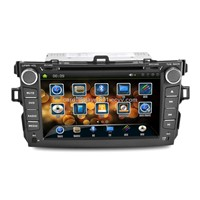 8Inch 2 DIN Car DVD player for Toyota corolla with GPS,Bluetooth,RDS,IPOD,TV