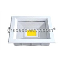 8W/10W/20W/30W LED Square COB Downlight