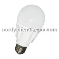 9W led globe bulb E27 E26 Aluminum and Glass cover led bulb