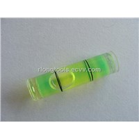 ACRYLIC Cylinder bubble level vial tube bubble level