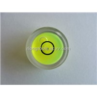 ACRYLIC ROUND bubble level vial