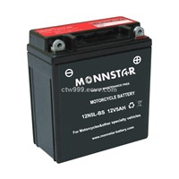 AGM Motorcycle Battery (12N5L-BS)