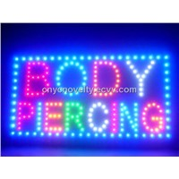 Advertise Wall Mounted Led Display Signs