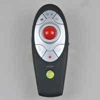 Anyctrl 2.4G Wireless PPT Presenter with Trackball Mouse-LP05