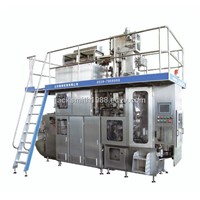 Aseptic filling machine for milk juice