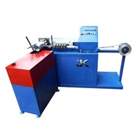 Automatic aluminum duct machine