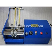 Automatic taped resistor lead forming machine
