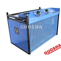 Breathing apparatus of high pressure air compressor( 300 bar 30 mpa 4500 psi gasoline engine)