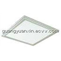 Brightness steplessly dimmerable LED panel light