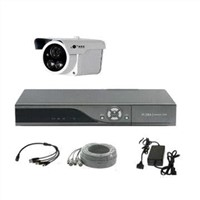 CCTV System with 8 Channel DVR and 8 Outdoor Bullet IR Camera