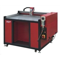 CNC glue brushing machine