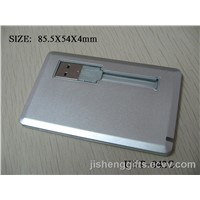 Cable Style Credit Card USB Memory Stick