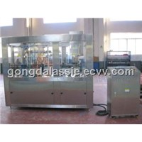 Cans isobaric filling machine