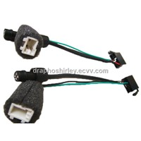 Car audio wire harness