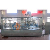 Carbonate beverage filling line