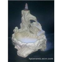 Ceramic Incense Fountain Burner