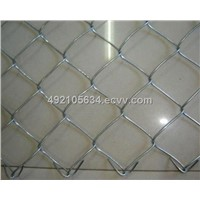 Chain Link Fence, Made of Low Carbon Wire/PVC Coated/Galvanized, Rhombic Opening for Construction
