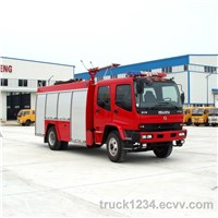 China TOP1 Factory Supply ISUZU Water/Foam Fire Truck