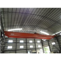 China overhead crane with electric hoist , double beam
