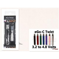 Chinese electronic cigarette supplier  ego-c twist blister with adjusted voltage battery