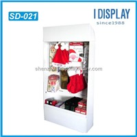 Christmas hat counter display stand with hooks