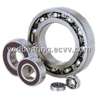 Chrome steel Shielded Ball Bearing 6207ZZ
