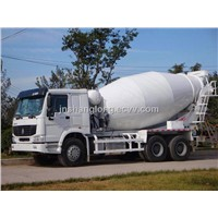 HOWO 1000L Concrete Mixer Truck With A Low Price