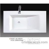 Counter top wash basin & sanitary ware